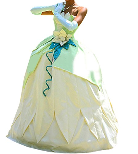 Updat (Tiana Princess And The Frog Costumes Adults)