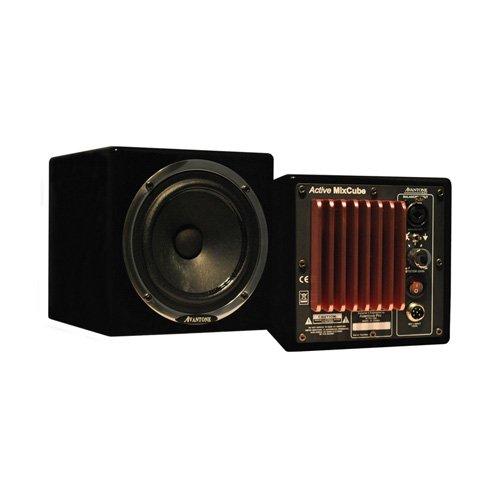 Avantone Audio Active MixCubes - Gloss Black/Pair