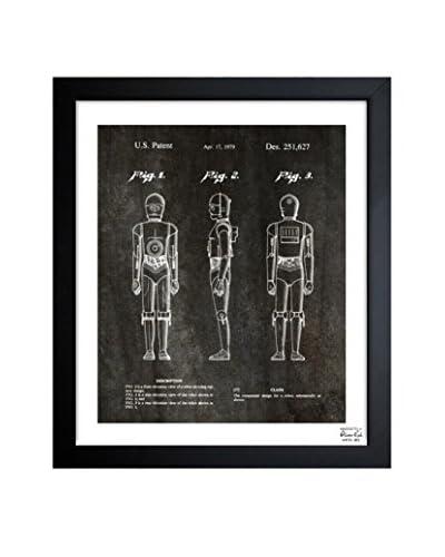 Oliver Gal Robot, 1979 Framed Art