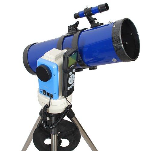 "Twinstar Blue 4.5"" Ioptron Computerized Gps Reflector Telescope"