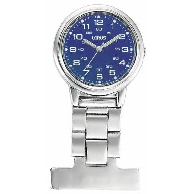 Lorus Professional Blue Dial Nurses Fob Watch RG251DX9