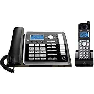 RCA 25255RE2 dect_6.0 2-Handset 2-Line Landline Telephone