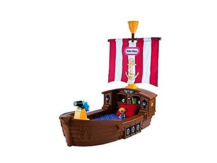 Little Tikes 625954E3 - Modellino di nave dei pirati