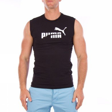 Puma Tank Top Mens Sl Tee Black