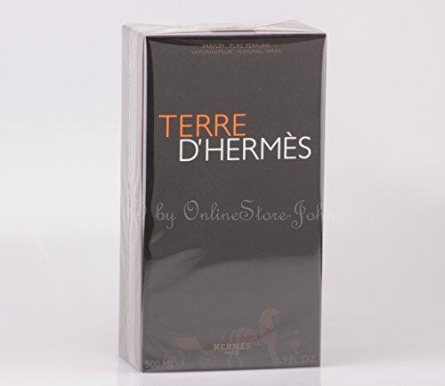 Hermes - TERRE d'Hermes - 500ml EDP - Pure Perfume Sprayflasche by Herms