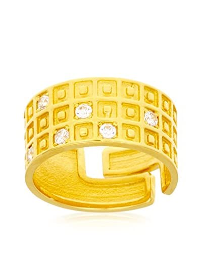 E-GOO Ring Sortija Moda gelb