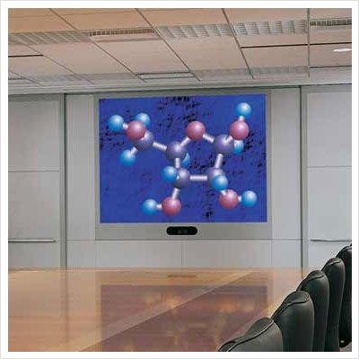 Vortex Rear Projection Screen  System 200 Black