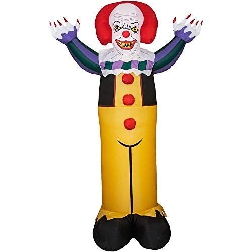 Pennywise Evil Clown Halloween Inflatable - One Size