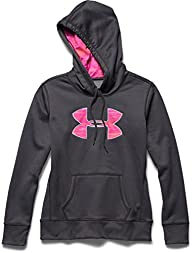 Under Armour Women's Big Logo Printed Hoodie Sweatshirt