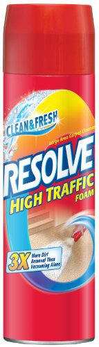 Resolve Carpet High Traffic Foam, 22 Ounce