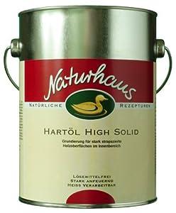 Naturhaus Hartöl High Solid 2,5 l  BaumarktKundenbewertung und weitere Informationen