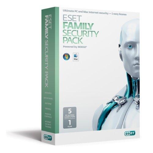 RE:LAUNCH ESET FAMILY SECURITY PACK 5U FR/EN