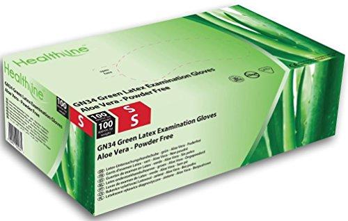 healthline-aloe-vera-green-latex-examination-gloves-large-box-of-100-by-hpc