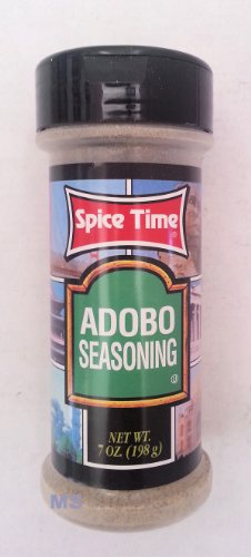 Naturally Pure Adobo Seasoning By Spice Time Spices & Herbs 7 Oz... Mtc