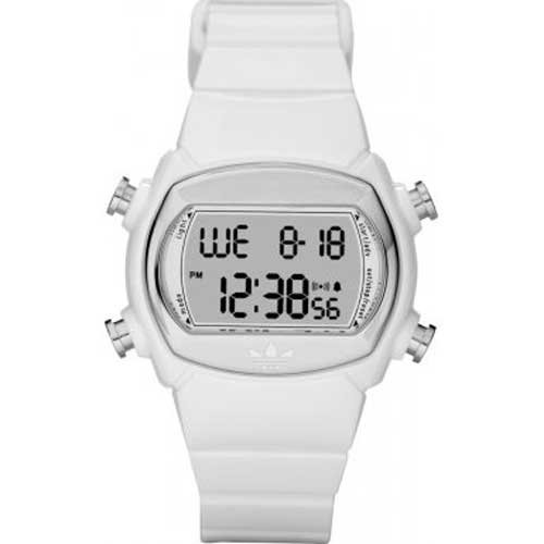 adidas Originals Herren-Armbanduhr Digital weiss