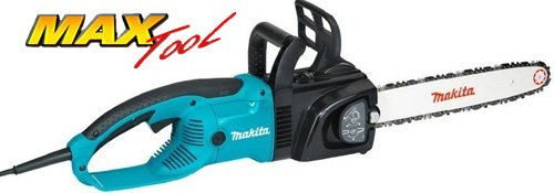 Makita UC4030A Commercial-Grade 16-Inch 15 amp Electric Chain Saw with Tool-Less Blade And Chain Adjustments