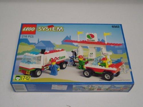 lego 6562 Gas Stop Shop Tankstelle von 1995