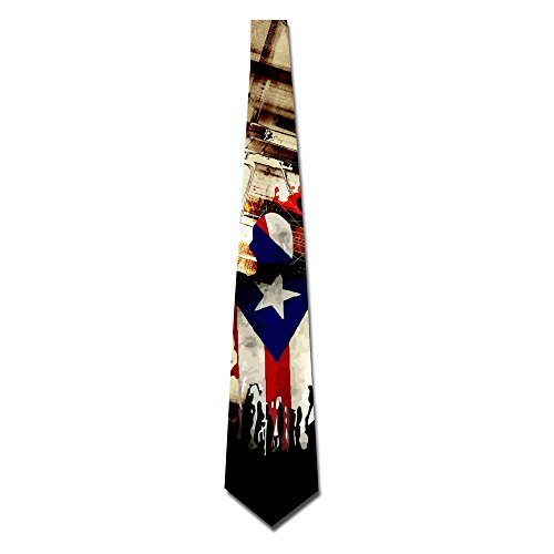 GGTAI American Power Logo Men Ties