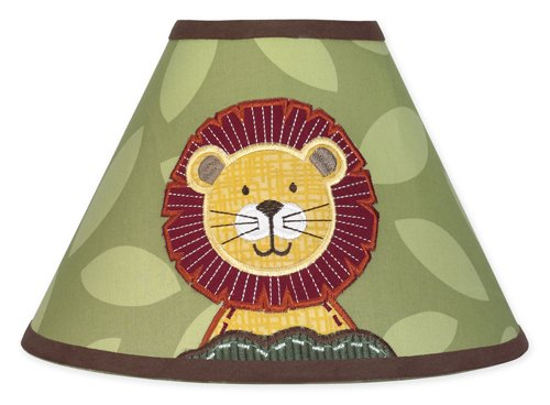Jungle Time Lamp Shade By Sweet Jojo Designs front-235955