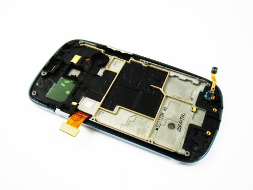 For Samsung Galaxy S3 Siii Mini Gt-I8190 White ~ Amoled Touch Screen Display+Frame ~ Mobile Phone Repair Part Replacement
