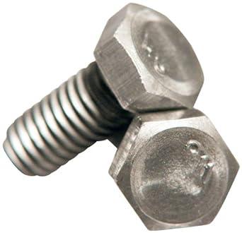 Steel Cap Screw, Grade 2, Zinc Plated Finish, Hex Head, External Hex Drive, Meets ASME B18.2.1/ASTM A307, Right Hand Threads, Inch