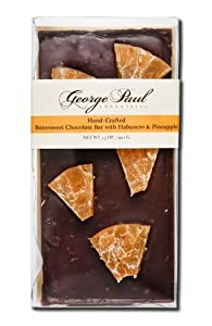 Dark Chocolate Bar with Pineapple & Habanero By George Paul Chocolates