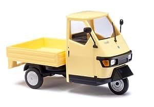 Amazon.com: O Scale Piaggio Ape 50 w/Bed yllw: Toys & Games
