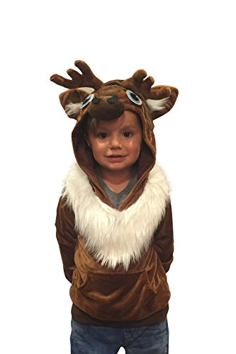 2017 disney frozen halloween costumes for the whole family halloween costumes kids sven reindeer costume hoodie sweatshirt frozen costume 2 4yr solutioingenieria Gallery