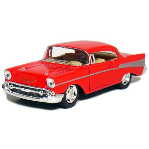 "5"" 1957 Chevy Bel Air Coupe 1:40 Scale (Red)"