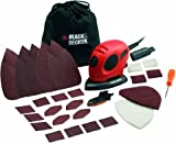 Red/Black Black & Decker Mouse Sander KA161BC (Black & decker, ) 55 watts