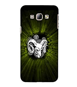 EPICCASE Grumpy Goat Mobile Back Case Cover For Samsung Galaxy A7 (Designer Case)
