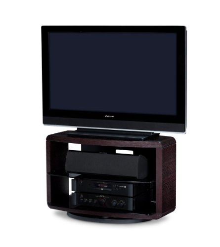 BDI Valera 9723 Single Wide Low Open TV Stand (Espresso Stained Oak)
