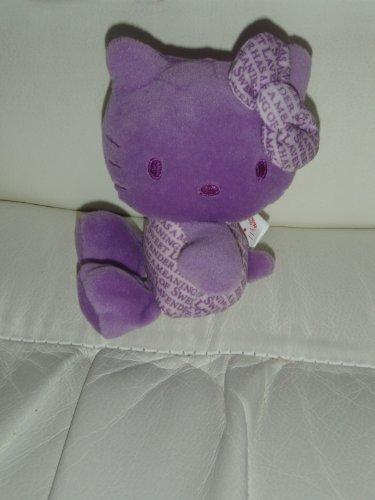 "Hello Kitty 35th Anniversary Small Plush - 5"" Purple - 1"