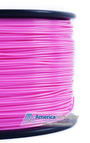 Jet - ABS (1.75mm, Pink color, 1.0kg =2.204lbs) Filament on Spool for 3D Printer MakerBot RepRap MakerGear Ultimaker & Up!