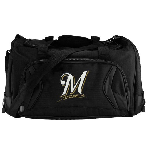 Milwaukee Brewers Black Fly-By Duffel Bag at Amazon.com