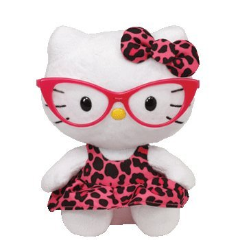 TY Beanie Baby Hello Kitty Fashionista