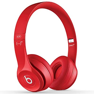 Beats by Dr. Dre Solo 2.0 On-Ear Headphones (Red)