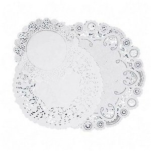 Pacon Deluxe Art Tex Doilies - White