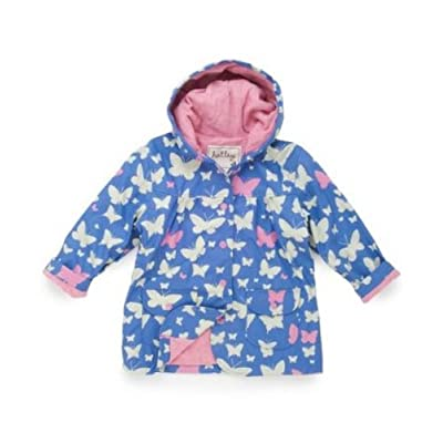 Hatley Butterflies Lined Girls Rain Coat, Jackets, Girls
