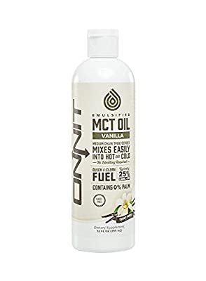 Emulsified MCT Oil - Creamy Vanilla (12oz) by Onnit Labs