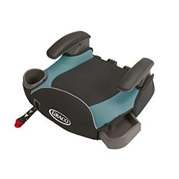 This seat provides a secure connection to your vehicle seat with its unique one-hand front-adjust latch system. The connection uses your vehicle's tethers to  keep the booster steadily in place and makes self-buckling easier for your independent chil...