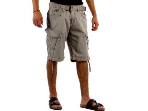 GANGSTER UNIT PENINSULA Bermuda short man grey