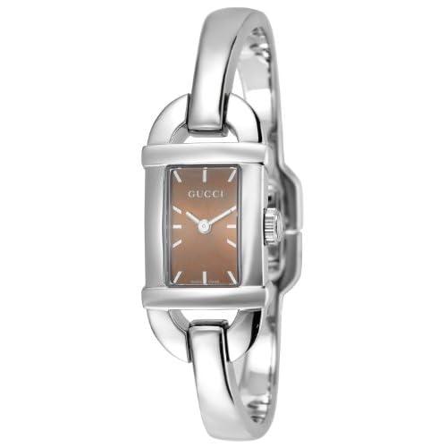 [グッチ]GUCCI 腕時計 6800 ブラウン文字盤 YA068582 レディース 【並行輸入品】