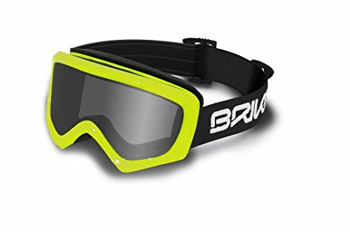 Briko Geyser-Maschera da sci, unisex, colore: nero, taglia unica
