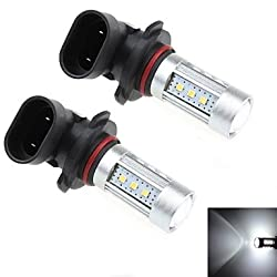 See 2Pcs 9005 15W 15x Samsung 2323 SMD 1000LM 6000K White Light LED for Car Headlamp / Fog Light Lamp (DC 12-24V) Details