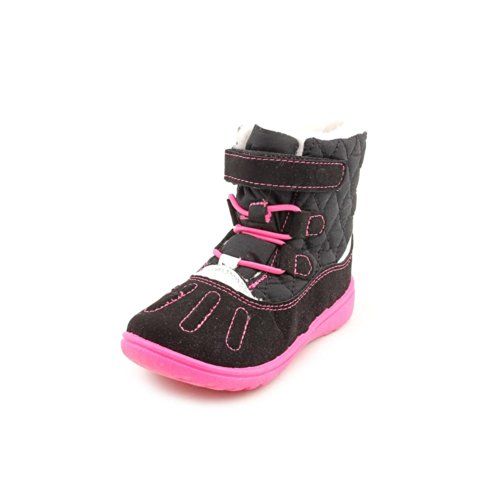 carter's Branch Boot (Toddler/Little Kid),Black/Pink,12 M US Little Kid