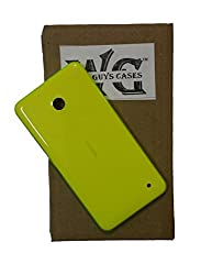 Wise Guys Back Battery Door Panel Replacement Housing Case for Nokia Lumia 630 - Yellow