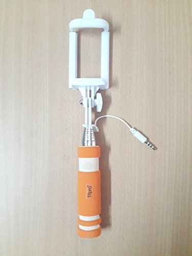 Tfpro Mini Selfie Stick with AUX Cable For Photograph and Video On Smart Phones Only From M.P Enterprise