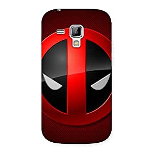 Gorgeous Dead Eye Round Red Back Case Cover for Galaxy S Duos