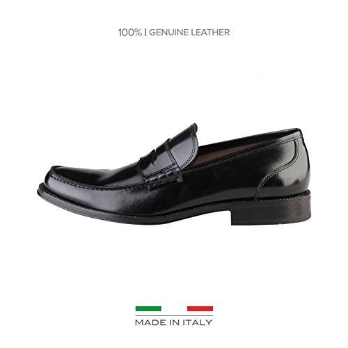 Made In Italia Tiziano, Mocassini uomo nero Size: EU 42